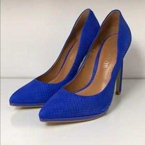 Aldo Blue Heels